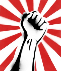 revolutionaryfist 256x300 Why We Need a Renaissance