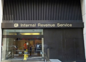 irs 300x217 The Silver Lining in The Scandals