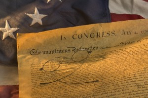 declaration of independence1 300x199 A Surprising Choice by Americas Founders