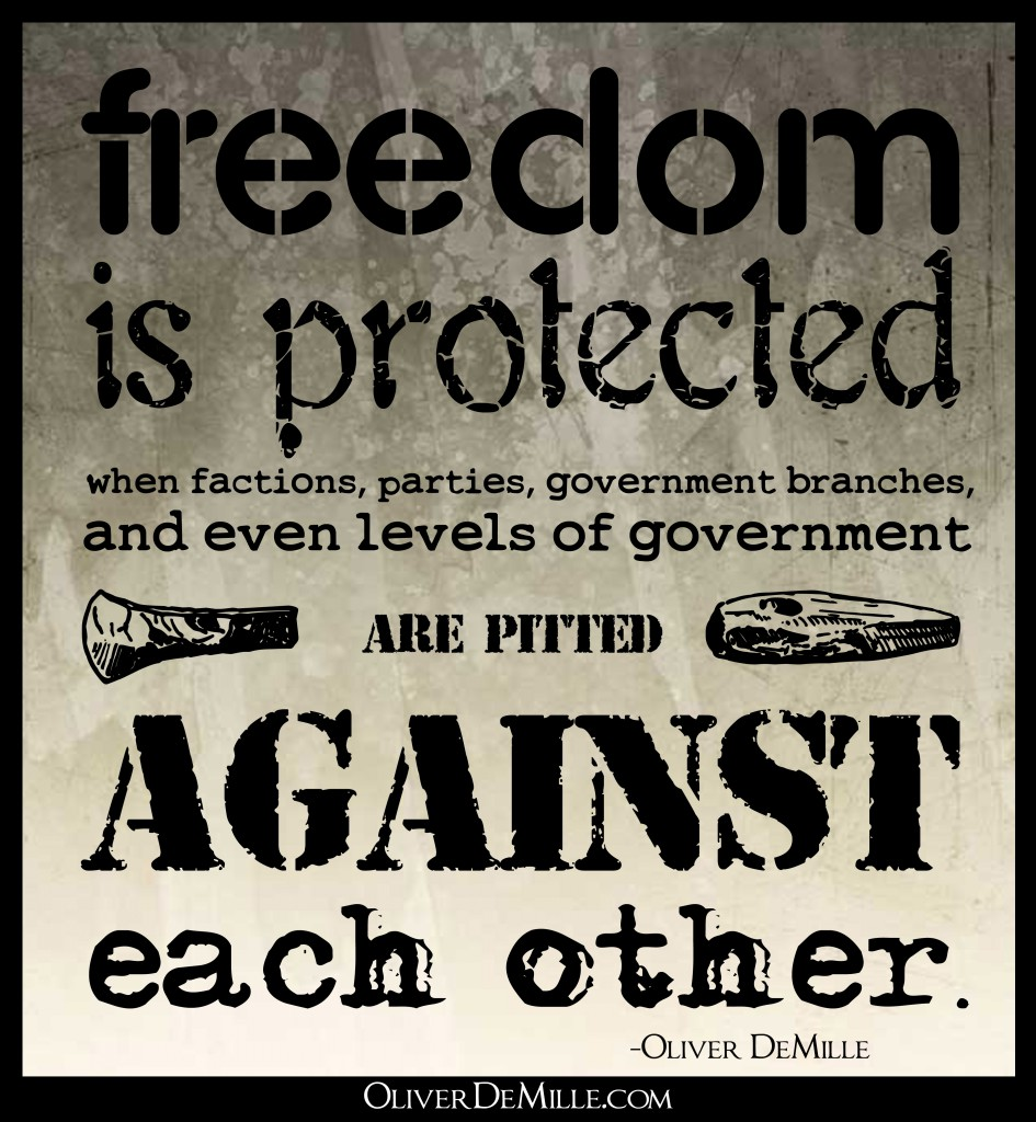 Freedom is protected 2 945x1024 Friends of Foes? (Obamas Liberal Detractors Grow) by Oliver DeMille