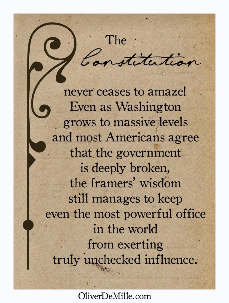 amazing constitution