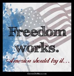 A huge surprise-Freedom Works