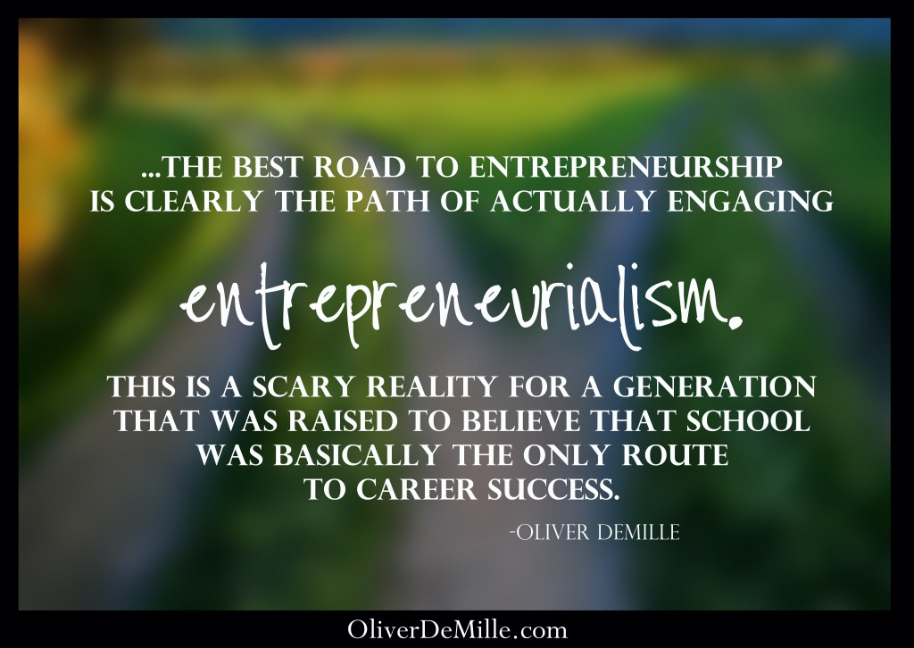 The New Ivy League-DeMille-road to entrepreneurialism