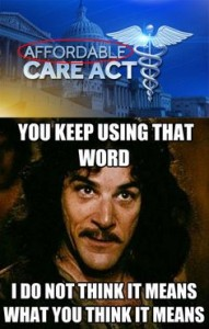 Affordable Care Princess Bride