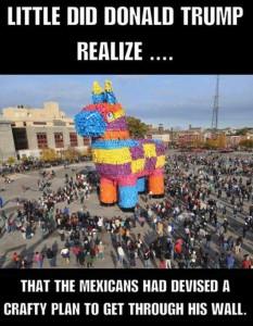 Trojan Pinata Meme
